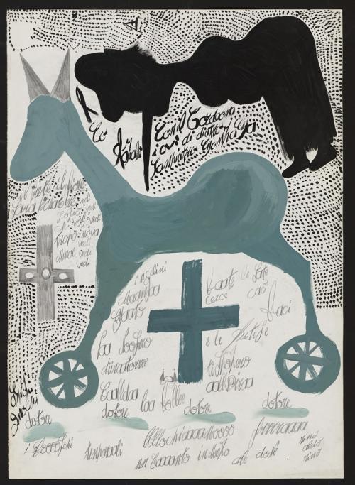 la Collection de l'Art Brut di Losanna sta celebrando il veronese Carlo Zinelli. Fino al 2 febbraio 2020