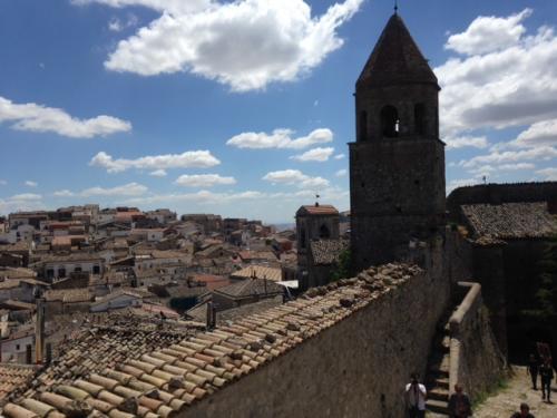 Veduta panoramica di Bovino (foto: Laura Perolfi)