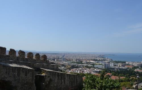 Salonicco - Panoramica dall'altro sulla città (foto C.Perer)