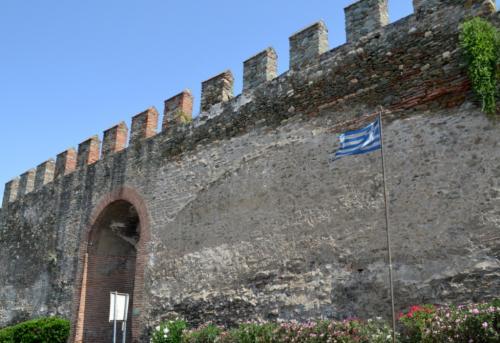 Salonicco vecchia sul colle che domina l'odierna metropoli (foto C.Perer)