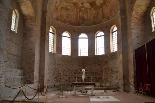 Salonicco - L'interno della Rotunda (foto C.Perer)