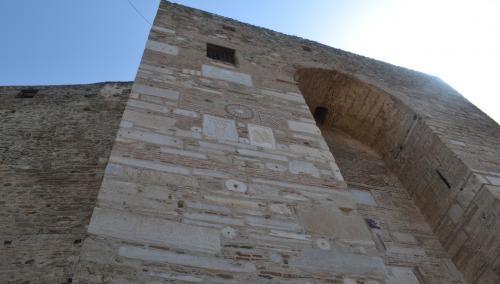 Salonicco - Mura possenti salvarono gli abitanti dalle invasioni turche (foto C.Perer)