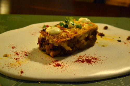 Imperdibile: moussaka, il pasticcio di melanzane (foto C.Perer)