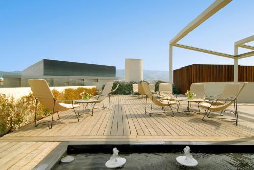 Il roof garden di giorno