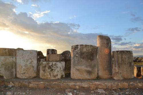 Parco archeologico di Kouklia uno dei 13 siti Unesco dell'isola