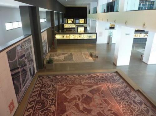 Il Museo Archeologico di Pella conserva reperti macedoni importantissimi.