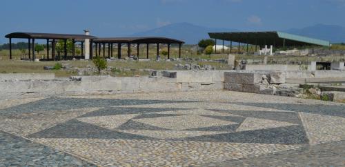 Il Museo Archeologico di Pella si trova in piena campagna