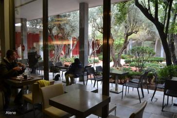 La Cafeteria del Museo Archeologico di Atene