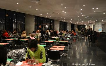 Il ristorante del Museo dell'Acropoli di Atene