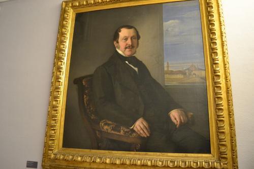 Gioacchino  Rossini era uomo pacioso e dotato di senso di humour