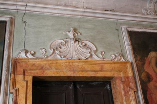 Stucchi ed affresci a Palazzo Betta-Grillo a Rovereto