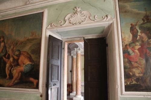 I saloni affrescati di Palazzo Betta-Grillo a Rovereto