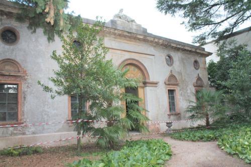 Il giardino di Palazzo Betta-Grillo a Rovereto