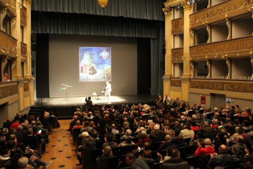 Teatro Sociale Trento: San Francesco mediatore dal Sultano