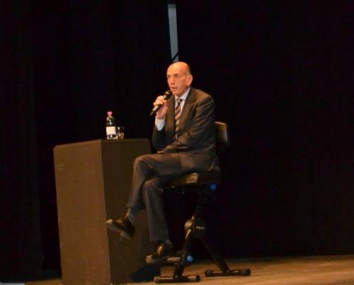 Domenico Quirico racconta la nascita del Califatto: 2014 (foto C.Perer)