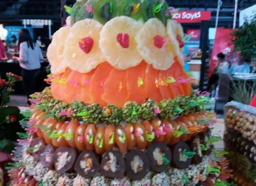 trionfo di frutta secca