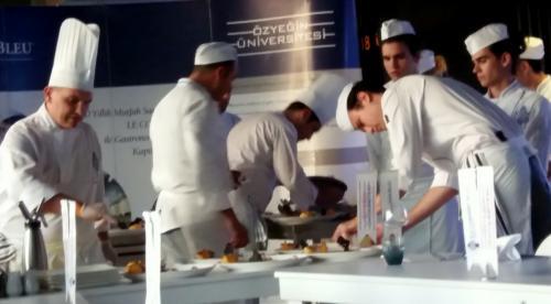 ...e alta gastronomia al GASTRO ENTERTAINMENT ISTANBUL
