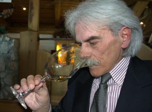 Giuliano Cadrobbi, sommelier e gran maestro dell'evento