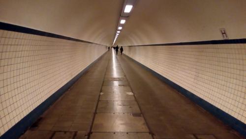 il tunnel sotto il fiume dedicato a Sant'Anna