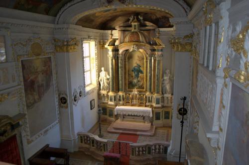 La cappella interna - fotoservizio: O.Galletti