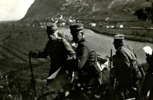 Luigi Cadorna in Valsugana