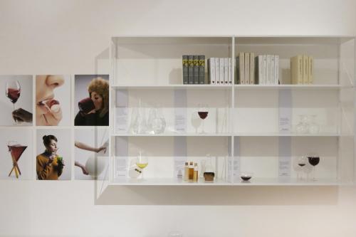 L'allestimento presso Longho,  concept store di Palermo