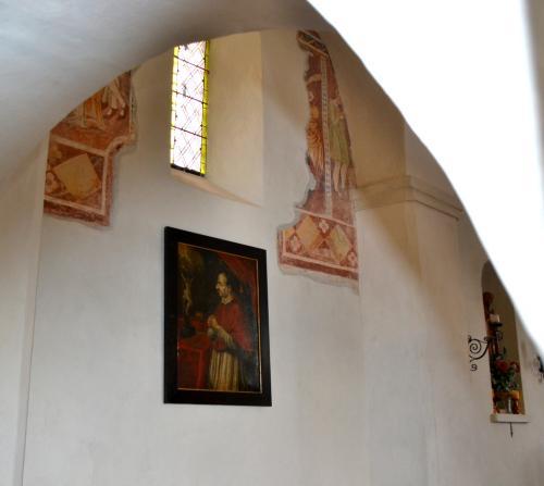 La chiesetta di San Vigilio (1200)