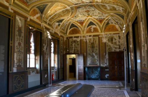 Castello Sforzesco: le preziose sale affrescate: oggi ospitano importanti mostre