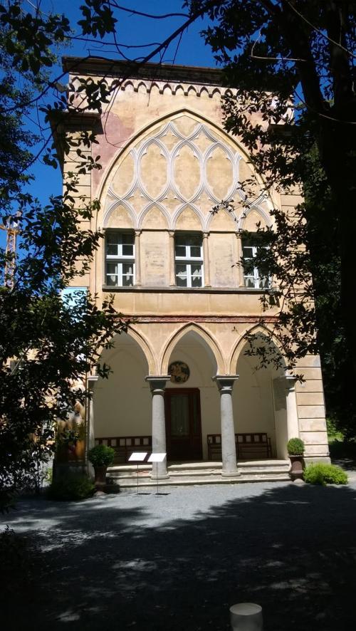 La facciata del Castello di Miradolo