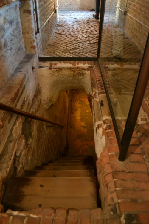 I passaggi verso le prigioni di palazzo