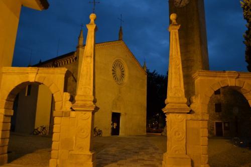 Il centro storico di Maniago