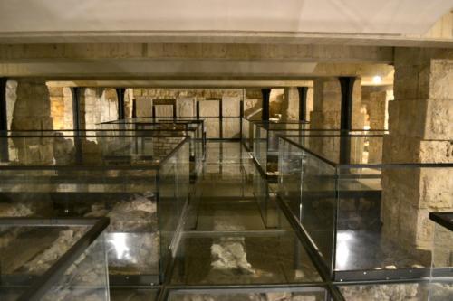 Lo splendido sito archeologico sotterraneo, ben articolato e conservato  (Foto C.Perer)
