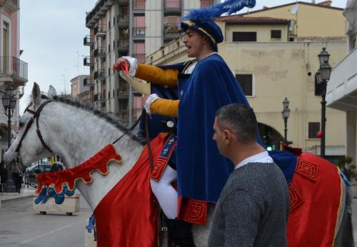 L'araldo decreta la Disfida di Barletta (Foto C.Perer)