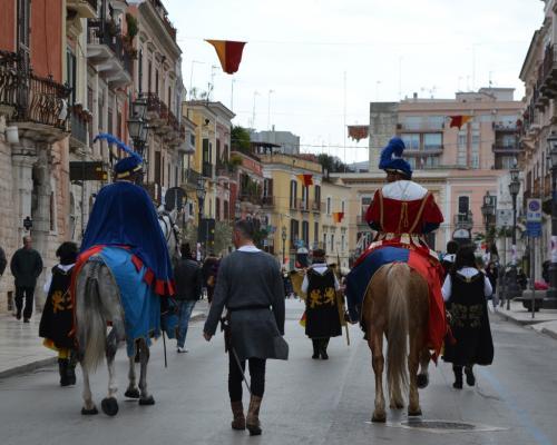 Cortei storici in occasione della Disfida di Barletta (Foto C.Perer)