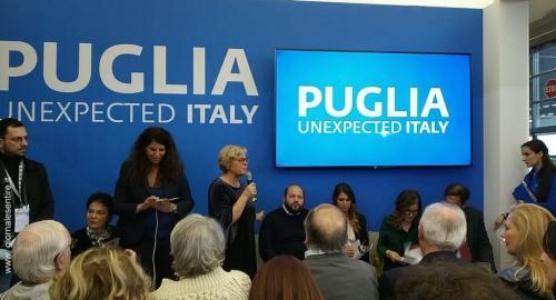 L'assessore regionale al turismo della Puglia Loredana Capone presenta i must di Puglia