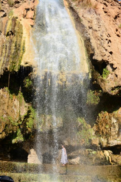 Terme di Hammamat Ma'in,  a 260 metri sotto il livello del mare