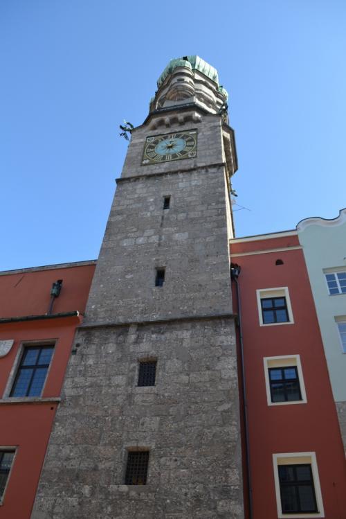 La torre da cui si gode una vista panoramica sulla città