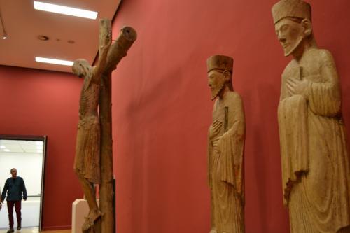 La collezione alto-medievale al primo piano