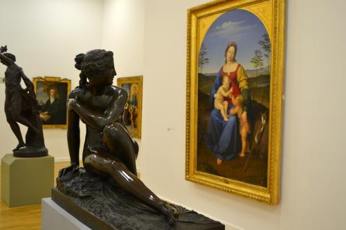 La pinacoteca del  Tiroler Landesmuseum