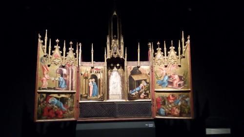 l'altare di Castel Tirolo (1370), il più antico altare a portelle di tutta l'area alpina