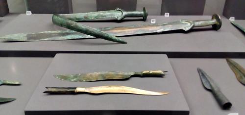 La collezione preistorica al pianto interrato del Ferdinandum