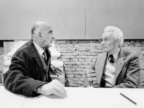 Gillo Dorfles e Bruno Munari