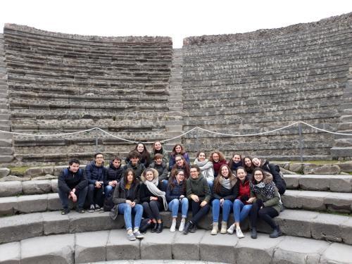 """La Classe IIAG del Liceo Classico """"A. Rosmini"""