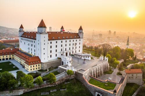 Bratislava dominata dal suo castello