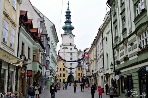 Il centro cittadino di impronta asburgico-ungherese