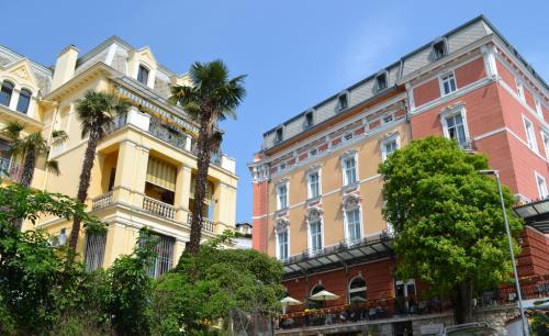 Architettura ad Opatija, perla del Quarnero (foto C.Perer)