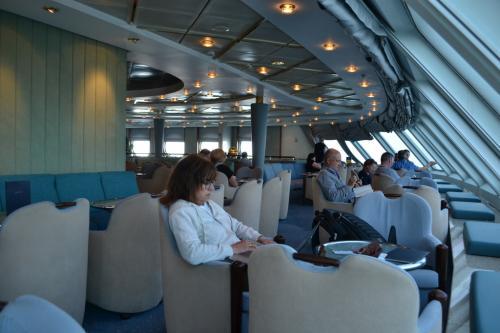 La Lounge a bordo dei traghetti Anek Lines