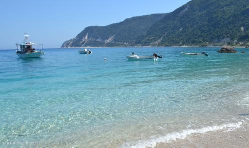 Il mare di Grecia, inconfondibile e unico