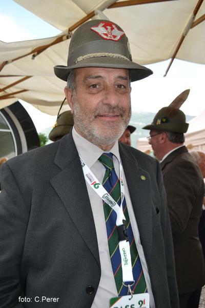 Il gen. Renato Genovese, uomo chiave dell'evento (Foto: C.Perer)