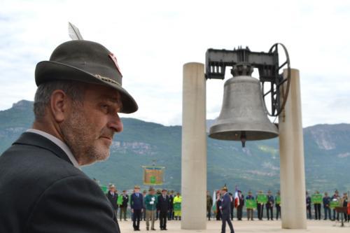 Adunata di Trento 2018: alla Campana dei Caduti cerimonia ricca di simboli (Foto: C.Perer)